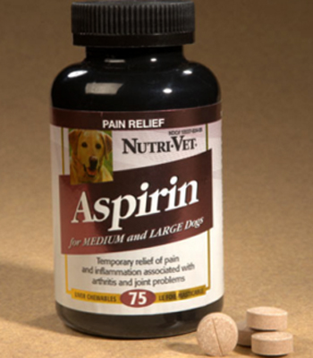 Give Dogs Chewable Aspirin