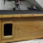 Как утеплить будку для собаки на зимний период