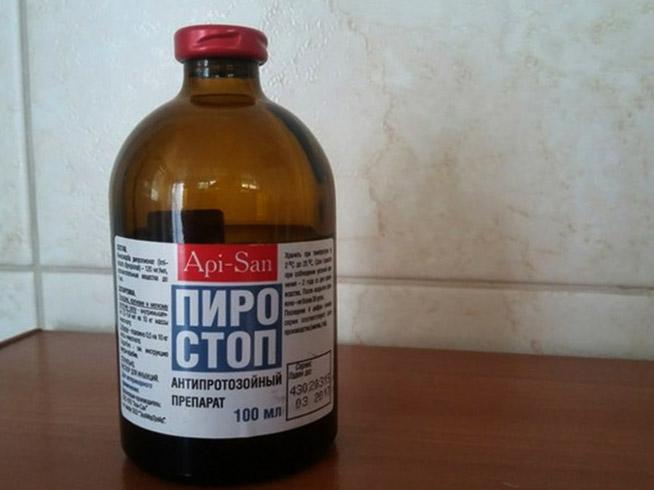 Флакон Пиростопа