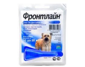 Фронтлайн капли для собак