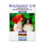 Альбен для собак — описание и инструкция по применению