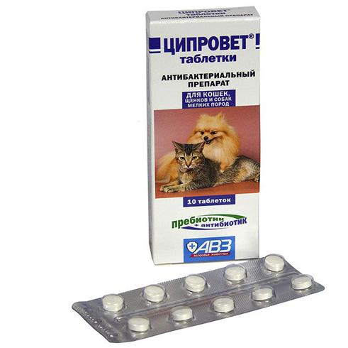 Ципровет - таблетки