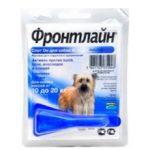 Фронтлайн капли для собак: описание и инструкция