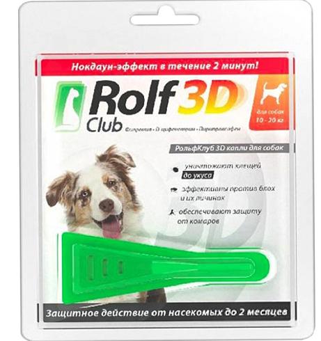 Капли Рольф 3Д