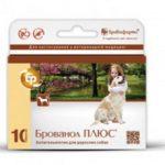 Брованол плюс для собак: инструкция и описание препарата